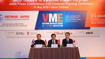 14-16/8:Triển lãm Công nghiệp hỗ trợ Việt Nam – Nhật Bản tại Hà Nội
