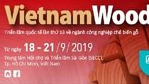 18–21/9: Triển lãm quốc tế máy móc, thiết bị công nghiệp chế biến gỗ 2019