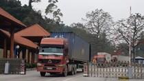 Điều chỉnh nhịp độ đưa hàng lên biên giới phù hợp năng lực thông quan các cửa khẩu
