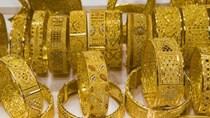 Giá vàng chiều ngày 15/10/2020 xuống mức 56,22 triệu đồng/lượng