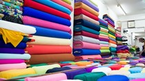 Vải may mặc nhập khẩu từ Trung Quốc chiếm trên 61% kim ngạch