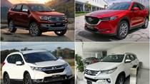 Nhập khẩu ô tô 11 tháng năm 2020 giảm mạnh