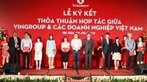 """Vingroup bắt đầu chương trình """"cộng sinh"""" với 250 doanh nghiệp Việt"""