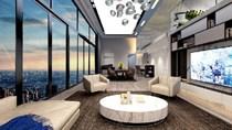 Khám phá penthouse triệu đô sang trọng tại Hà nội