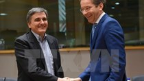 Eurogroup nhất trí nối lại đàm phán về chương trình cứu trợ Hy Lạp