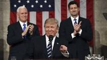 Tổng thống Trump lần đầu phát biểu trước lưỡng viện quốc hội Mỹ