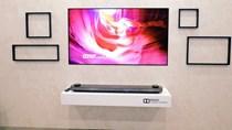 Mẫu TV 'mỏng đến khó tin' của LG