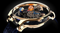 Tuyệt phẩm triệu đô dành cho giới thượng lưu: Hệ Mặt Trời thu nhỏ trong chiếc đồng hồ