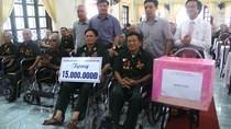 TKV: Thăm và tặng quà tại một số Trung tâm điều dưỡng thương binh