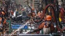 Sản xuất công nghiệp của Trung Quốc tăng trong tháng 10