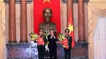 Tướng Ngô Xuân Lịch và Đỗ Bá Tỵ được thăng hàm Đại tướng