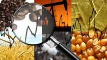 Hàng hóa TG sáng 16/1: Giá dầu giảm trở lại, triển vọng kinh tế thế giới ảm đạm