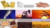 Hàng hóa thế giới sáng 23/5: Giá dầu giảm do tồn trữ xăng cao, vàng giảm do Fed