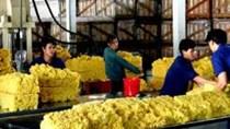 Thị trường xuất khẩu khẩu cao su 4 tháng năm 2015