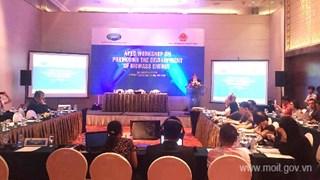 Hội thảo APEC về Thúc đẩy sự phát triển của năng lượng sinh khối
