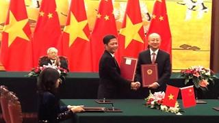 Hoạt động của Bộ trưởng Trần Tuấn Anh trong khuôn khổ chuyến thăm Trung Quốc
