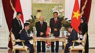 Bộ trưởng BCT Trần Tuấn Anh tham gia đoàn Tổng Bí thư thăm chính thức In-đô-nê-xi-a