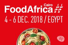8-10/12: Mời tham dự Hội chợ Food Africa 2018 tại Ai Cập