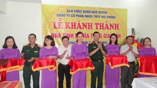 CTCP Nhựa Thiếu niên Tiền Phong: Trao nhà tình nghĩa cho gia đình chính sách