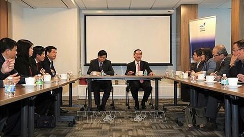 Thúc đẩy quan hệ đối tác toàn diện Việt - Mỹ