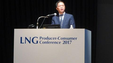 Bộ trưởng Trần Tuấn Anh dự Hội nghị quốc tế về Sản xuất và Tiêu thụ khí LNG 2017