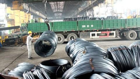 7 tháng 2015 nhập khẩu thép tăng gần 45% cùng kỳ, riêng tháng 7 tăng 74% về lượng