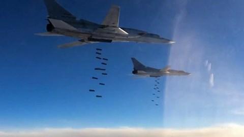 Nga đẩy mạnh chiến dịch quân sự chống IS tại Syria