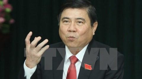 Ông Nguyễn Thành Phong được bầu làm Chủ tịch UBND TP Hồ Chí Minh
