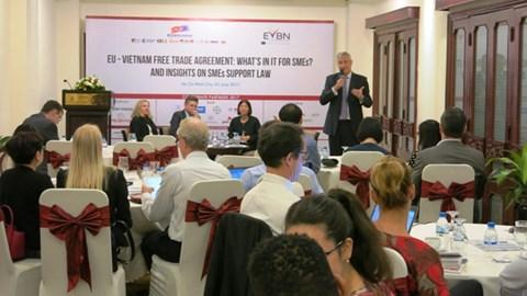 EVFTA sẽ mang lại lợi ích cho doanh nghiệp vừa và nhỏ?