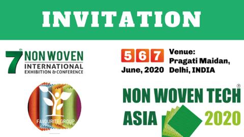 05-07/6: Mời dự Hội chợ Công nghệ Vải không dệt Asia lần thứ 7 tại Ấn Độ