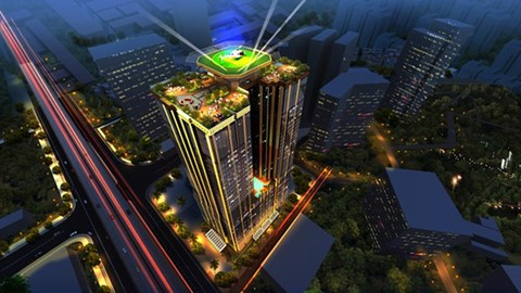 Sunshine Center: Bất động sản quý tộc gây ấn tượng mạnh tại Hà Nội