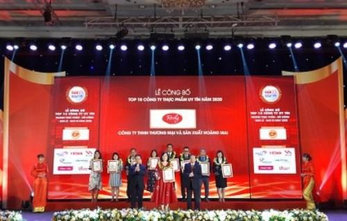 Vinh danh Top 500 doanh nghiệp lợi nhuận tốt nhất Việt Nam năm 2020