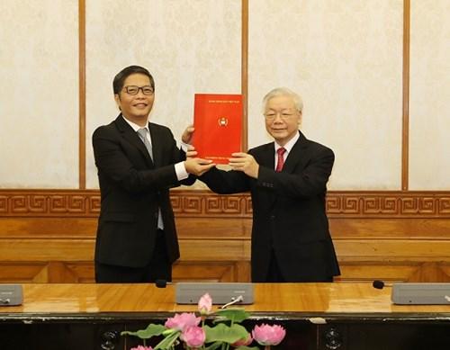 Bộ trưởng BCT Trần Tuấn Anh được phân công giữ chức Trưởng Ban KT Trung ương