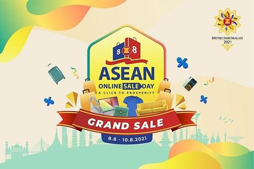 ASEAN Online Sale Day 2021: Thúc đẩy thương mại điện tử xuyên biên giới trong khu vực ASEAN