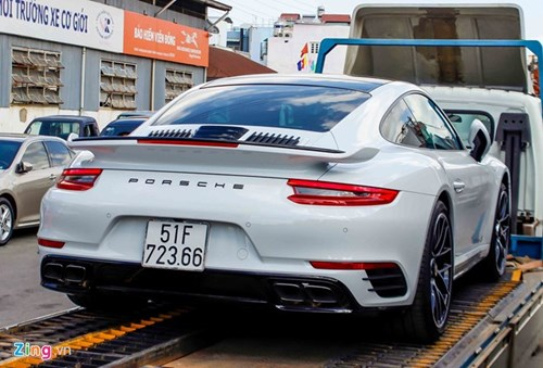 Sieu xe Porsche 911 Turbo S thu 2 ve Viet Nam gia 14,5 ty hinh anh 5