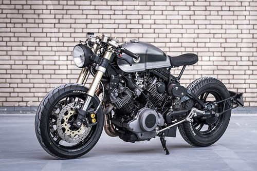Moto Yamaha 750 phan khoi do bat mat hinh anh 3