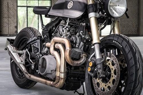 Moto Yamaha 750 phan khoi do bat mat hinh anh 8