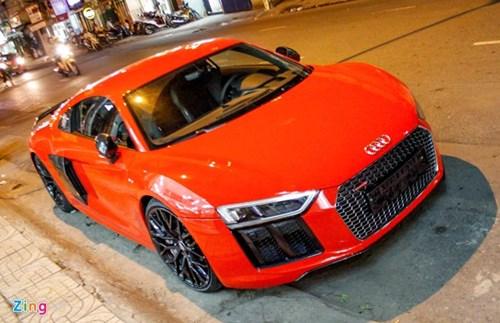 Sieu xe Audi R8 V10 Plus ve tay thieu gia Phan Thanh hinh anh 2