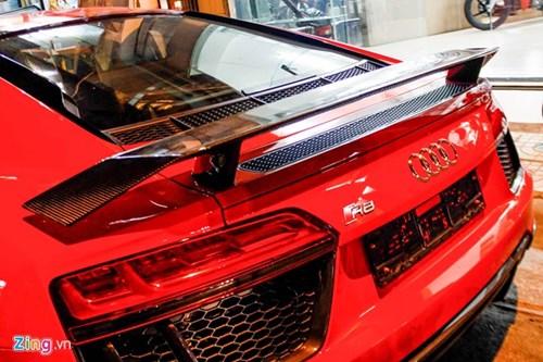 Sieu xe Audi R8 V10 Plus ve tay thieu gia Phan Thanh hinh anh 9