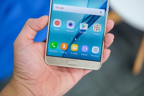 Galaxy A9 Pro 2016: Man hinh lon, pin 5.000 mAh sap ban o VN hinh anh 9