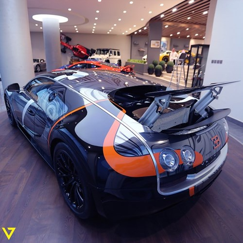 Bugatti Veyron Super Sport mau son doc duoc rao ban hinh anh 2