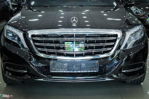 Chi tiet xe sang Mercedes-Maybach S500 tai Ha Noi hinh anh 4