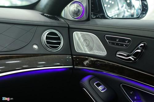 Chi tiet xe sang Mercedes-Maybach S500 tai Ha Noi hinh anh 9