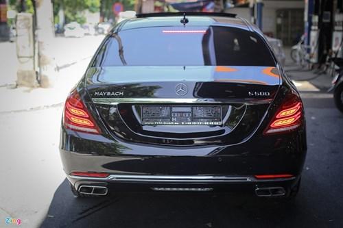Chi tiet xe sang Mercedes-Maybach S500 tai Ha Noi hinh anh 2
