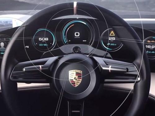 Porsche san xuat xe dien canh tranh Tesla hinh anh 9