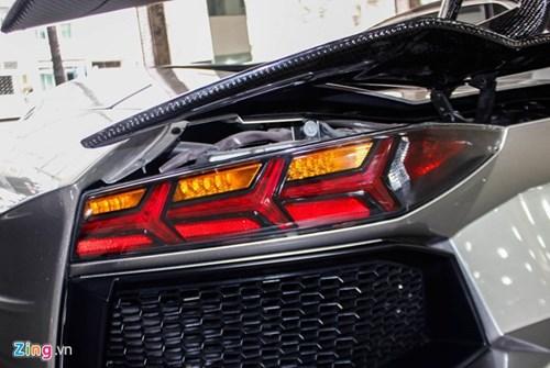 Lamborghini Aventador ban do dau tien ve Viet Nam hinh anh 7