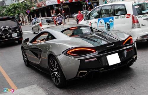 McLaren 570S cua Cuong Do La lan dau dao pho Sai Gon hinh anh 7