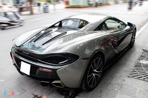 McLaren 570S cua Cuong Do La lan dau dao pho Sai Gon hinh anh 4