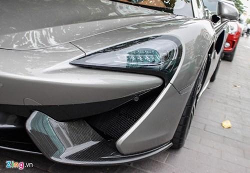 McLaren 570S cua Cuong Do La lan dau dao pho Sai Gon hinh anh 9