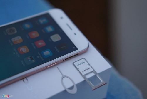 Mo hop Oppo F1s: Smartphone chuyen selfie, dang ua nhin hinh anh 5